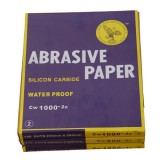 23x28cm Waterproof Sandpaper Abrasive Paper for Automotive Furniture Polishing Grinding
