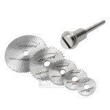 6pcs HSS Mini Circular Saw Blades Cutting Disc Electronic Drill/Grinder Accessories